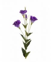 Kunstbloem lisianthus paars trend