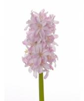 Kunstbloemen roze hyacint trend