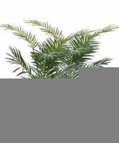 Kunstplant palmboompje groen 2 stuks trend 10110130