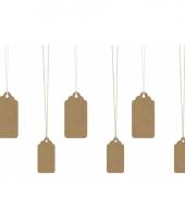Labels voor kadootjes 6 stuks trend