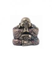 Lachende boeddha beeldje 11 cm trend