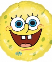 Lachende spongebob folie ballon helium 43cm trend