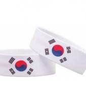 Landen armband zuid korea trend