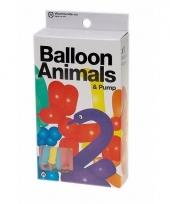 Lange ballonnen om dieren te vouwen 24 st trend