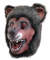 Latex dierenmasker beer trend