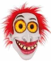 Latex horror masker enge clown trend