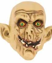 Latex horror masker enge ork trend