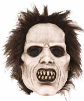 Latex horror masker scary zombie trend