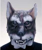 Latex wolf masker trend