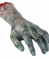 Latex zombie hand afgehakt trend