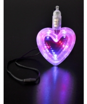 Led hartje aan ketting trend