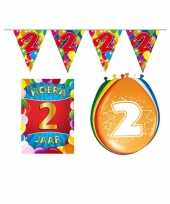Leeftijd feestartikelen 2 jaar voordeel pakket trend