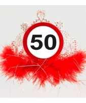 Leeftijd thema 50 jaar diadeem trend