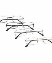 Leesbril met metalen montuur trend 10076666