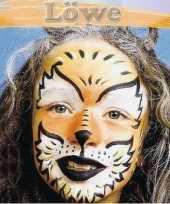 Leeuw schminken schminkset 6 delig trend