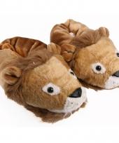 Leeuwen sloffen voor volwassenen trend