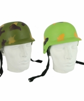 Leger helm camouflage trend