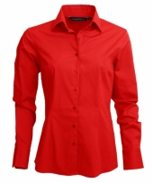 Lemon soda overhemd rood voor dames trend