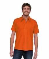 Lemon soda overhemden voor heren oranje trend