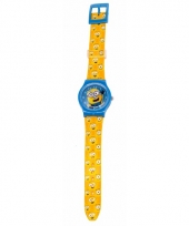 Leren klokkijken minions horloge analoog trend