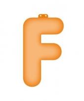 Letter f opblaasbaar trend