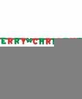 Letter guirlande merry christmas trend