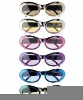 Leuke gekleurde feestbril trend