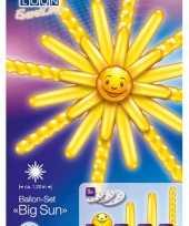Leuke grote zon ballonnen geel trend