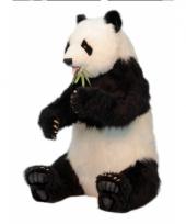 Levensechte pandabeer 130 cm trend