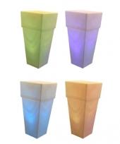 Licht vaas rechthoek 106 cm trend