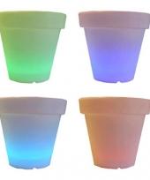 Licht vaas rond 65 cm trend