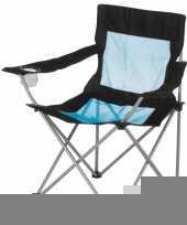 Lichtgewicht campingstoeltje met leuning trend