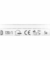 Lichtslang led strip helder wit buiten 5 meter trend