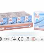 Lichtslang led strip op batterij blauw binnen 1 meter trend