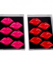 Liefdes magneten lippen 6x trend