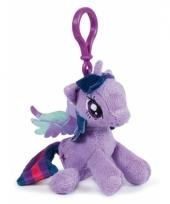 Lila my little pony schoenkado sleutelhanger 12 cm trend