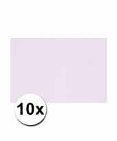 Lila paars knutselpapier a4 formaat 10 stuks trend