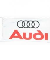 Logo vlag audi 150 x 75 cm trend