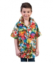 Luau hawaii blouse voor kids trend