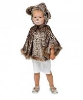 Luipaard pakje met capuchon voor peuters trend