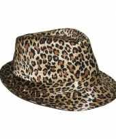 Luipaard print hoeden trend