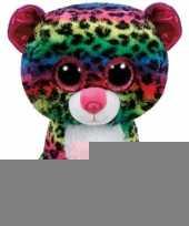 Luipaard ty beanie knuffel dotty 24 cm trend