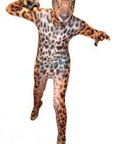 Luipaarden morphsuits voor kids trend