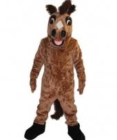 Luxe dieren kostuum paarden pak trend
