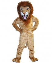 Luxe dieren mascotte leeuw trend