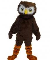 Luxe dieren pakken uilen mascotte trend