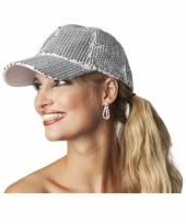 Luxe disco pet met zilveren pailletten trend