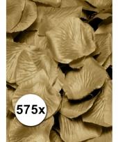 Luxe gouden rozenblaadjes 575 stuks trend
