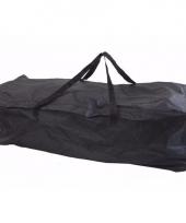 Luxe kussen opberghoes navy 116 x 49 x 35 cm trend