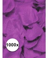 Luxe lila rozenblaadjes 1000 stuks trend